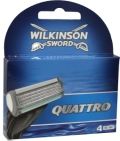 Wilkinson Scheermesjes Quattro For Women Plus 4st