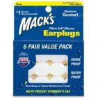 Macks Earplugs 6paar