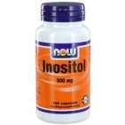 Now Inositol 500mg 100cap