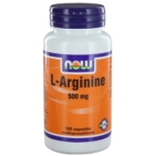 Now L-Arginine 500mg 100cap