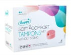 Beppy Soft+ comfort tampons wet 8st