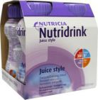Nutridrink Juice style cassis 4x200