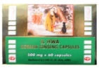 Il Hwa Ginseng poeder 500 mg 60cap