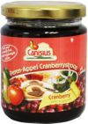 Canisius Peer appel cranberry stroops 300g