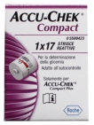 Accu Chek Compact strips 17st