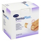 Dermaplast Sensitive wondpleister 5m x 8cm 5mx8cm