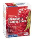 Lamberts Strawberry protein boost 6x30g