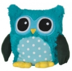 Warmies Uil Magnetronknuffel Turquoise 1 stuk