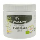 It's Amazing Superfood hennepzaad gepeld 250GR
