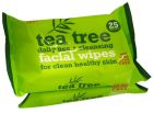 Tea Tree Cleansing Wipes Duo 50st