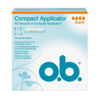 Ob Tampons pro comfort super applicator 16st