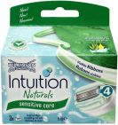 Wilkinson Intuition naturals sensitive care scheermesjes 3st