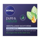 Nivea Pure & Natural Nachtcreme 50ml