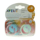 Avent Fopspeen fashion 6-18M 2st