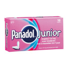 Panadol Junior zetpil 125mg 10zp