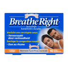 Breathe Right Neusstrips tanned large 10st