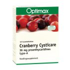 Optimax Cysticare cranberry extra 40kt