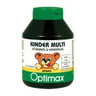Optimax Multivitamines Kinder Naturel 180kt