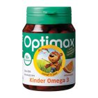Optimax Kinder omega 3 sinaasappel 50kcap