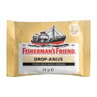 Fishermansfriend Strong Drop Anijs Geel 1 stuk