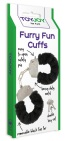 Ero Funny Fun Cuffs Black Plush 1 stuk