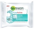 Garnier Skin naturals wipes pure active 25st