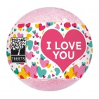 Treets Bath Ball I Love You 180g