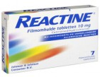 Reactine Cetirizine 10mg 7tb