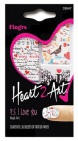 Fing'rs Heart2Art P.S. I Love You Nagelstickers 1 stuk