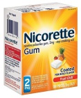 Nicorette Nicotinekauwgom 2mg Fresh Fruit 30st