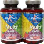 Lucovitaal Multivitamines Kids Aardbei Duo 2x120t