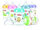 Nuby Fles Silicone Medium Flow 360ml