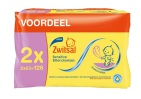 Zwitsal Billendoekjes Sensitive 2x63st