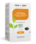 New Care Vitamine D3 75 mcg 100cap