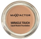 Max Factor Foundation Miracle Touch Warm Almond 045 1 stuk