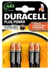 Duracell Batterijen Plus Power AAA 4 stuks