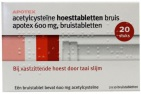 Apotex Acetylcysteine 600mg 20 tabletten