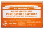 Dr Bronners Toiletzeep Tea Tree 140g