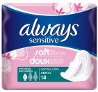 Always Sensitive Maandverband Ultra Normal Plus 14 stuks