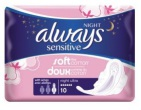 Always Sensitive Maandverband Ultra Night 10st