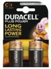 Duracell Plus Power C 2st