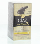 Olaz Dagcrème Total Effects Touch Off Foundation Licht 50ml