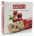 Taste Of Nature Quebec cranberry carnival 5x32g