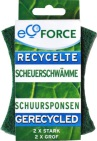 Ecoforce Schuurspons grof 2st