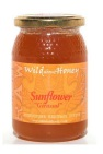Wild About Honey Zonnebloem Honing 500 Gram