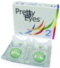 Pretty Eyes 1m groen 2st