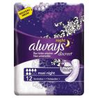 Always Discreet maandverband night maxi 12st