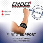 Emdee Tennis golf arm supportband zwart ex