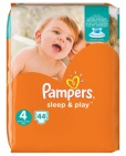 Pampers Sleep & Play Maxi S4 44st