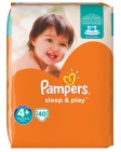 Pampers Sleep & Play Maxi Plus S4+ 40st